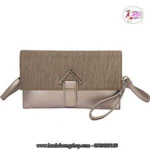 Túi xách, ví cầm tay dự tiệc da nữ thời trang sang trọng - 4