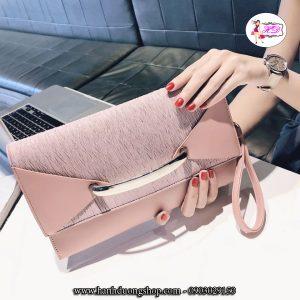Túi xách, ví cầm tay dự tiệc da nữ thời trang sang trọng - 5