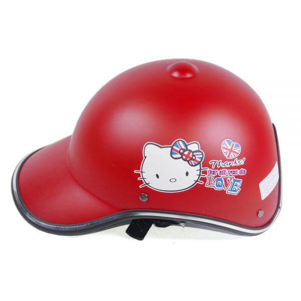 Mũ bảo hiểm nữ màu trắng