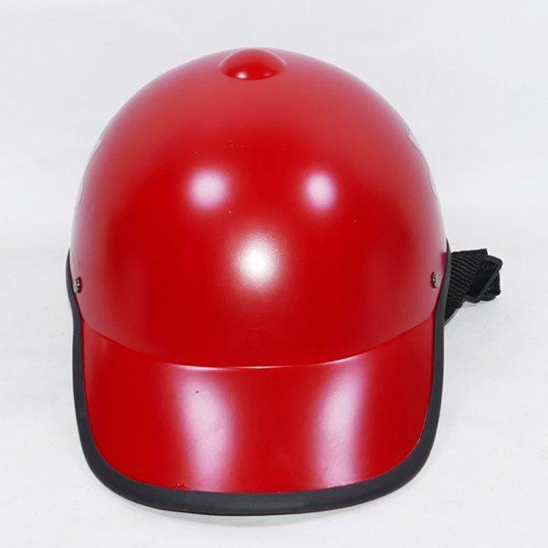Nón bảo hiểm nam màu đỏ