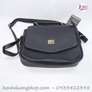 Túi đeo chéo da logo hình khỉ thời trang - Hạnh Dương Shop