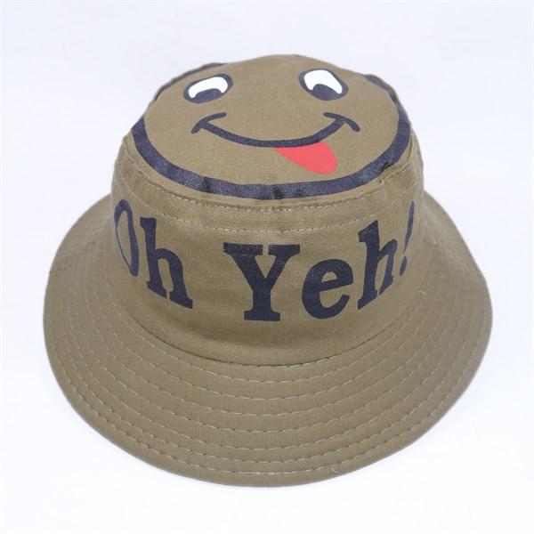 Mũ tai bèo trẻ em in mặt cười Oh Yeh - Hạnh Dương