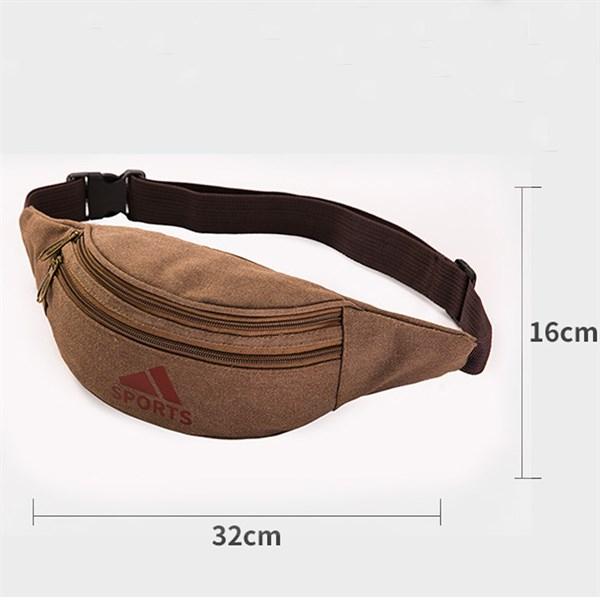 Túi bao tử vải bố bền chắc, thời trang - Hạnh Dương Shop