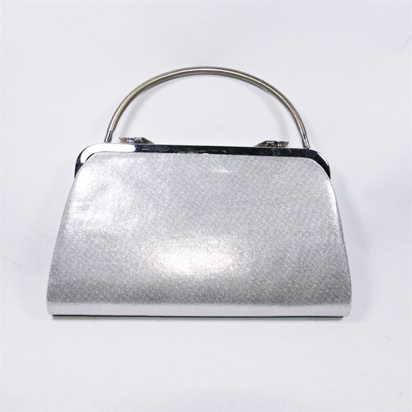 Túi xách da nữ màu bạc độc đáo, dùng đi đám cưới