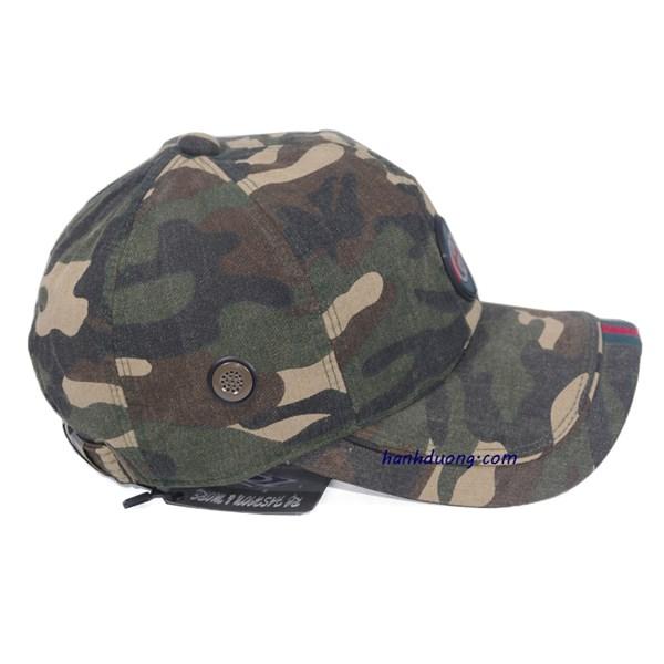 Mũ gucci sọc lính thời trang cao cấp