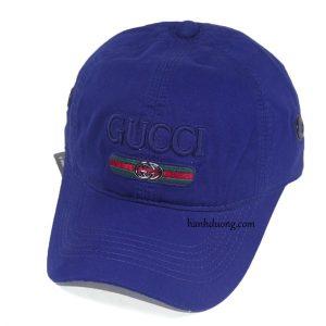 Mũ gucci xanh đậm vải xịn cao cấp