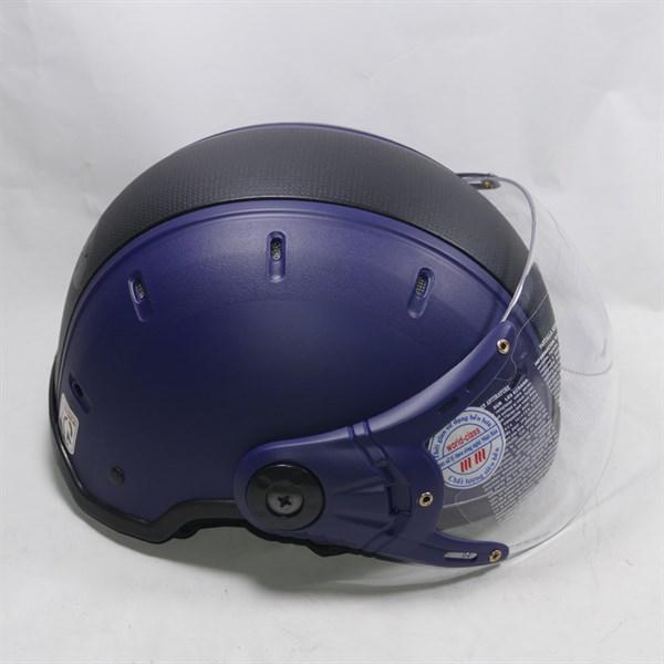 Mũ bảo hiểm có kính cao cấp kim minh vá phối 2 màu độc đáo