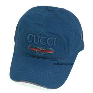 Mũ gucci xanh cổ vịt vải xịn cao cấp