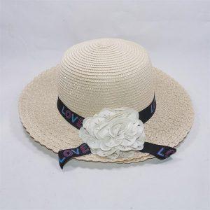 Mũ rộng vành đi biển nơ hoa đẹp