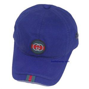 Mũ lưỡi trai gucci logo tròn cao cấp