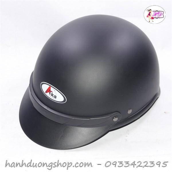 Mũ bảo hiểm trơn cao cấp hàng công ty Aka