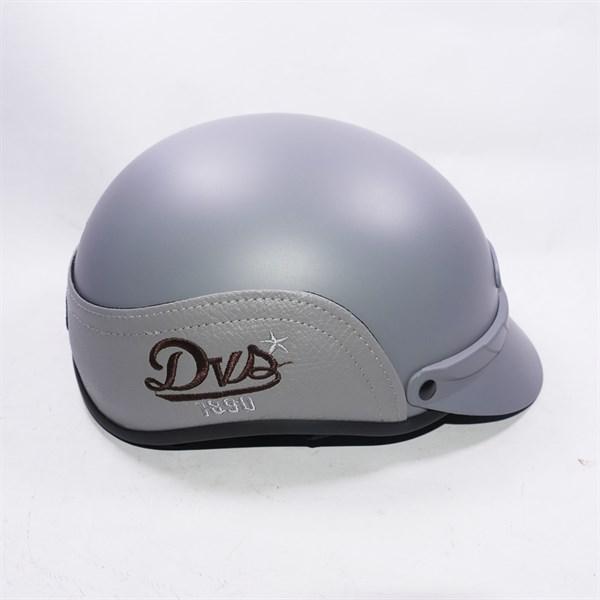 Mũ bảo hiểm cao cấp vá da King DVS đẹp mắt