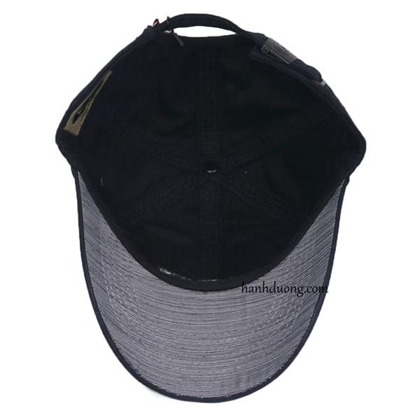 Mũ lưỡi trai cao cấp adidas đen