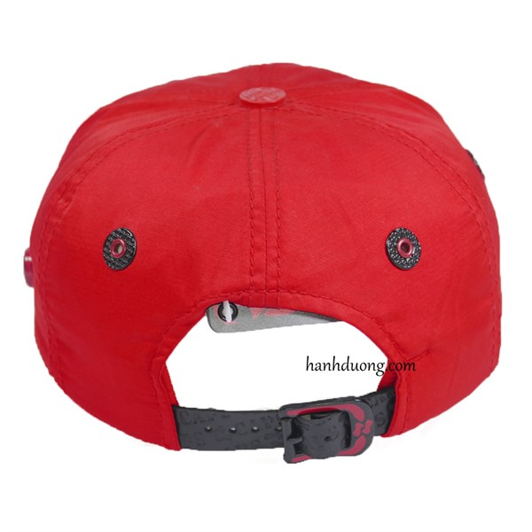 Nón kết j caps cao cấp vải dù trơn màu đỏ