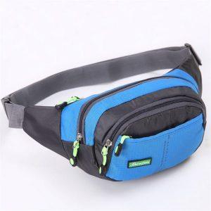 Túi đeo hông vải dù chống thấm, dùng chạy bộ, bán hàng - Hạnh Dương Shop